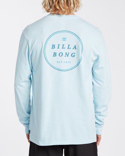 2 Rotor Long Sleeve T-Shirt Blue MT433BRO Billabong