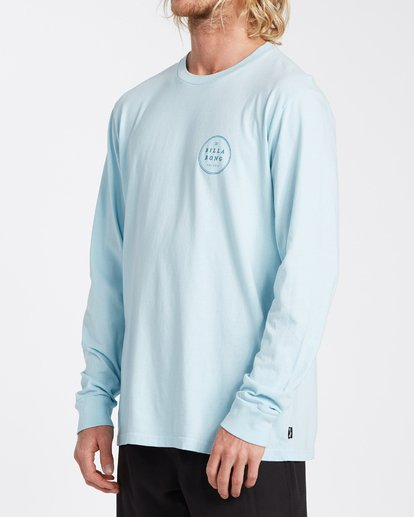 1 Rotor Long Sleeve T-Shirt Blue MT433BRO Billabong