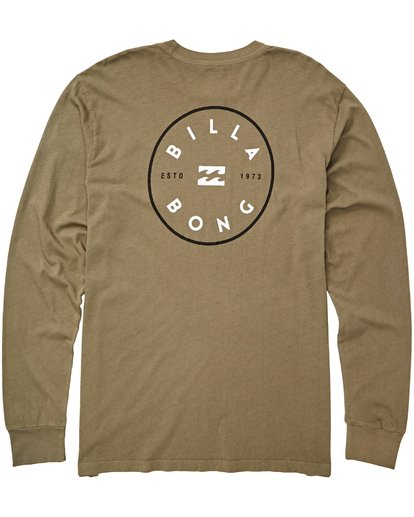 1 Rotor Long Sleeve T-Shirt  MT43QBRO Billabong