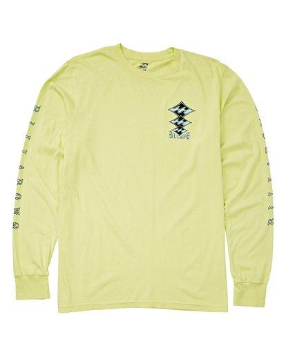 0 Tri Stack Long Sleeve T-Shirt Black MT43UBTS Billabong