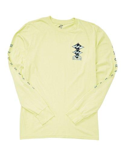1 Tri Stack Long Sleeve T-Shirt Black MT43UBTS Billabong