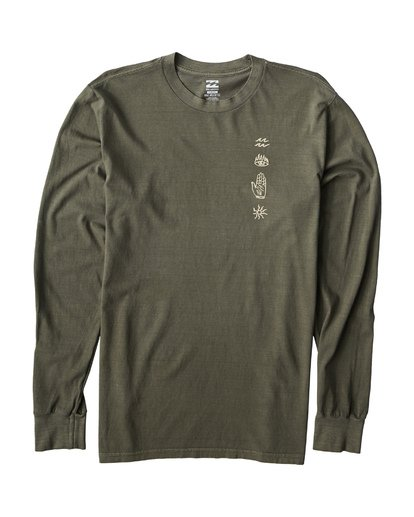 1 Infernal Long Sleeve T-Shirt  MT43VBIN Billabong