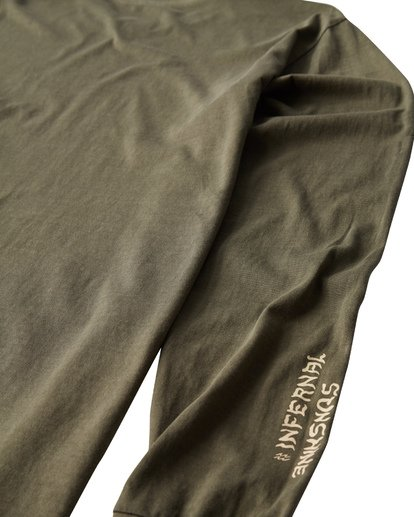 3 Infernal Long Sleeve T-Shirt  MT43VBIN Billabong