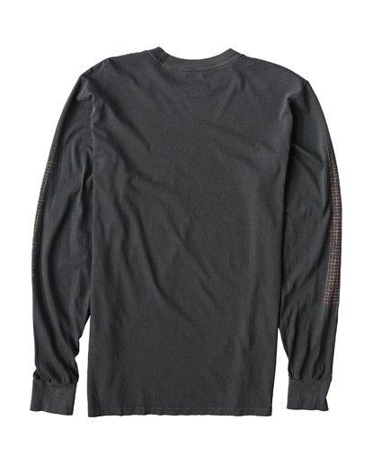 1 Sailin Long Sleeve T-Shirt Grey MT43VBSA Billabong