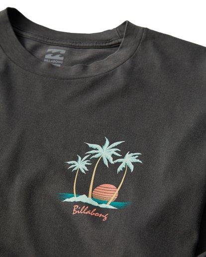 2 Sailin Long Sleeve T-Shirt Grey MT43VBSA Billabong
