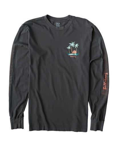 0 Sailin Long Sleeve T-Shirt Grey MT43VBSA Billabong