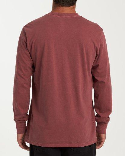 2 Arch Ray Long Sleeve T-Shirt Red MT43WBAR Billabong