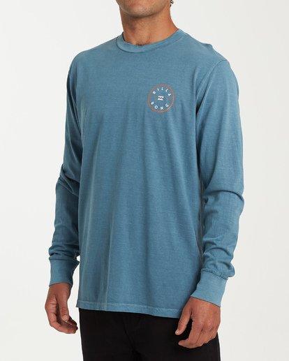 1 Rotor Long Sleeve T-Shirt Blue MT43WBRO Billabong