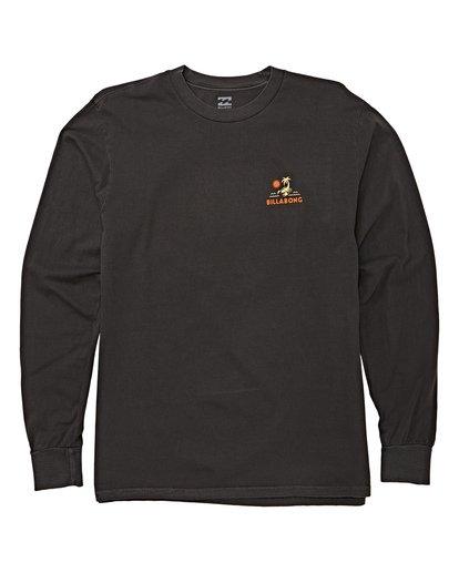 3 Scorpion Palm Long Sleeve T-Shirt Grey MT43WBSC Billabong