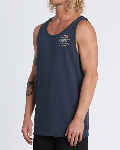 1 Cali Tank Blue MT831BCA Billabong