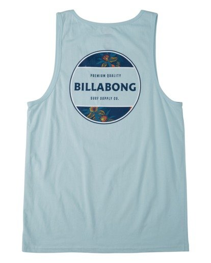 4 Rotor Tank Top Blue MT833BRO Billabong