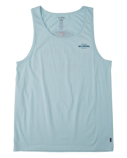 3 Rotor Tank Top Blue MT833BRO Billabong
