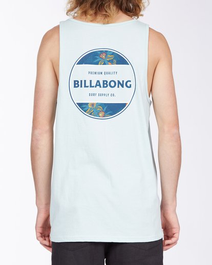 2 Rotor Tank Top Blue MT833BRO Billabong