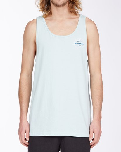 0 Rotor Tank Top Blue MT833BRO Billabong