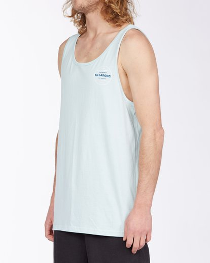 1 Rotor Tank Top Blue MT833BRO Billabong