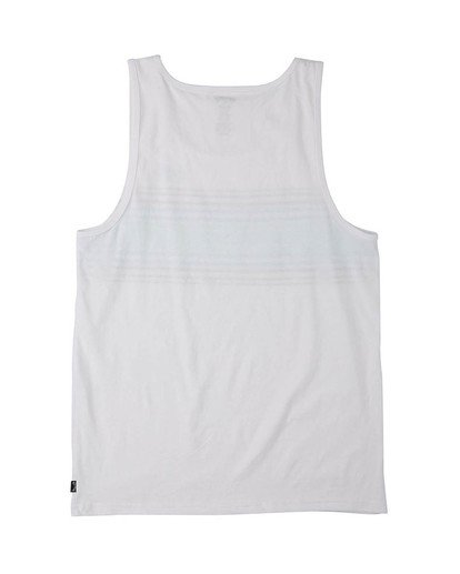 4 Spinner Tank Top White MT833BSP Billabong