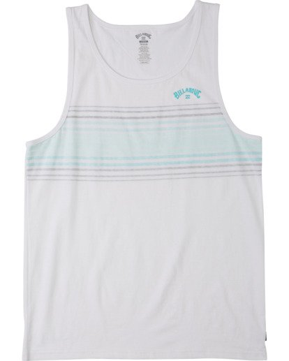 3 Spinner Tank Top White MT833BSP Billabong