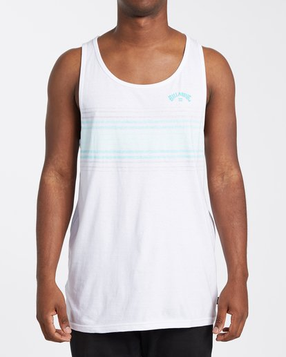 0 Spinner Tank Top White MT833BSP Billabong