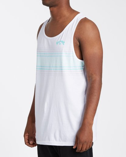 1 Spinner Tank Top White MT833BSP Billabong
