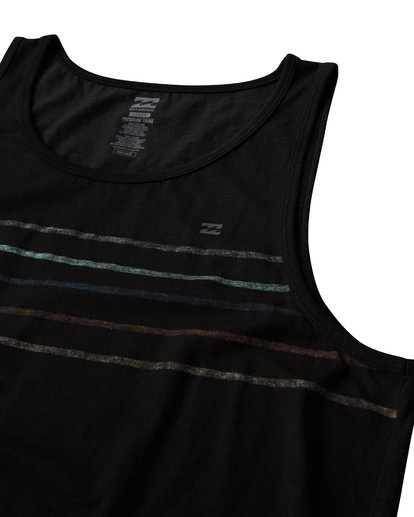 1 Spinner Tank Black MT83VBSP Billabong