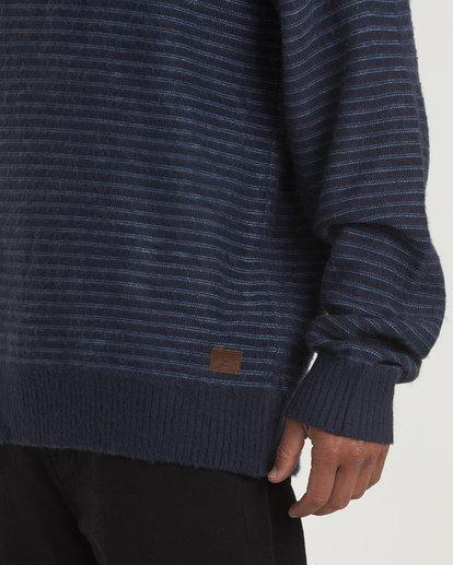 3 Rambler Crewneck Knit Blue MV03VBSC Billabong