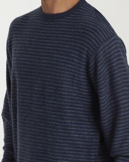 4 Rambler Crewneck Knit Blue MV03VBSC Billabong