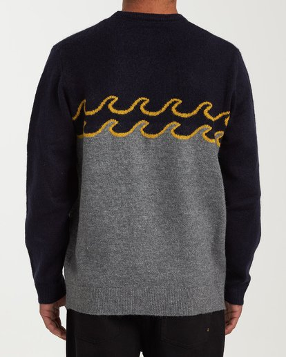 2 Waves Sweater Grey MV03WBWS Billabong