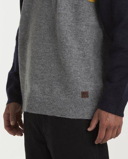 3 Waves Sweater Grey MV03WBWS Billabong
