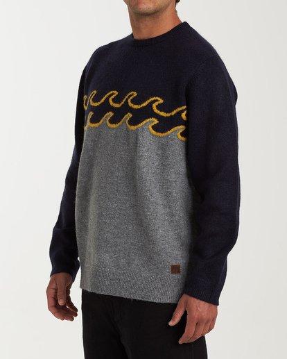 1 Waves Sweater Grey MV03WBWS Billabong