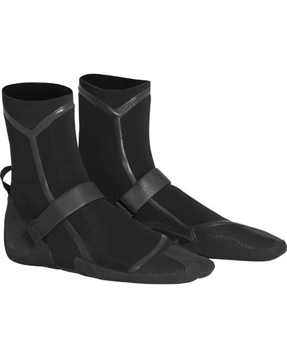 4 3mm Furnace Carbon Ultra Split Toe Boot Black MWBOQBX3 Billabong