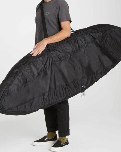 "0 Platinum X Double Deluxe 6'0"" Surfboard Bag Black MWDFJD60 Billabong"