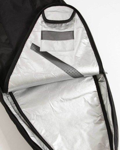 "1 Platinum X Double Deluxe 6'0"" Surfboard Bag Black MWDFJD60 Billabong"