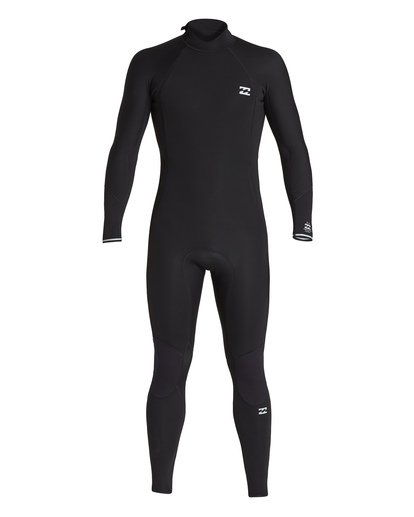 1 3/2 Absolute Back Zip Long Sleeve Fullsuit Black MWFU1BL3 Billabong