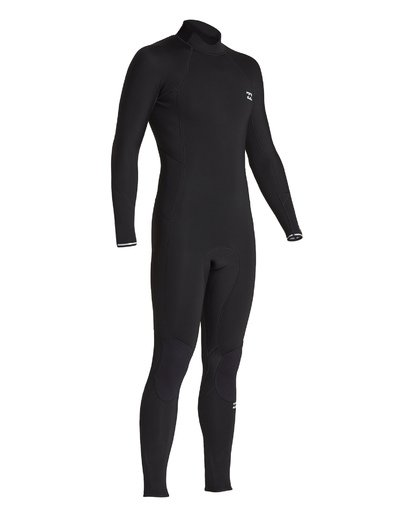 5 3/2 Absolute Back Zip Long Sleeve Fullsuit Black MWFU1BL3 Billabong