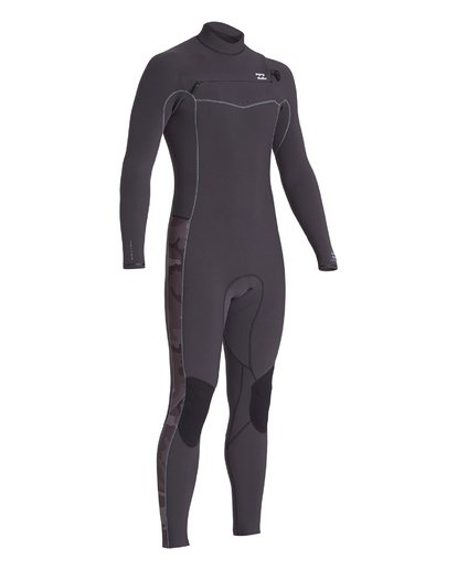 5 3/2 Revolution Pro Chest Zip Fullsuit Black MWFU1BP3 Billabong
