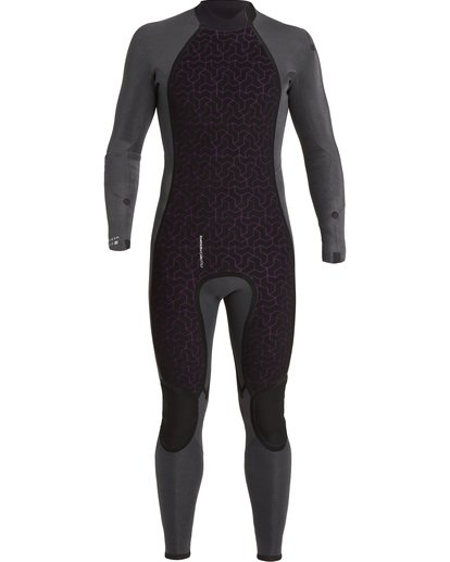 5 3/2 Absolute Back Zip Wetsuit Blue MWFU3BA3 Billabong