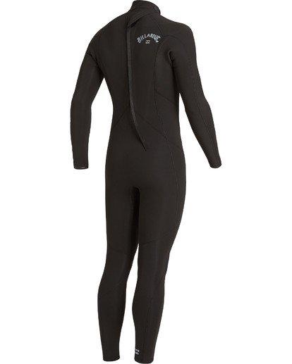 2 4/3 Absolute Back Zip Wetsuit Black MWFU3BA4 Billabong
