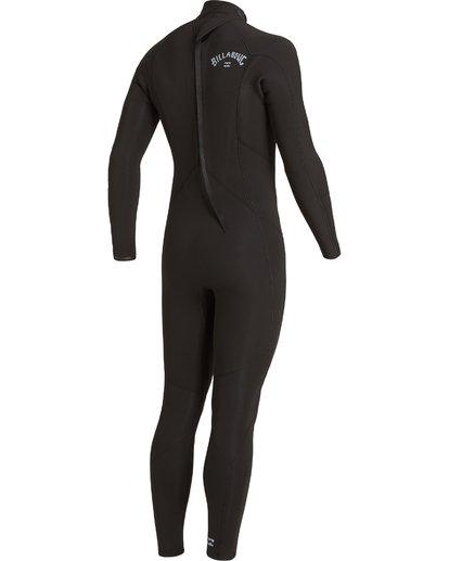 3 4/3 Absolute Back Zip Wetsuit Black MWFU3BA4 Billabong