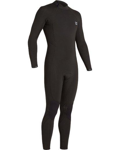 5 4/3 Absolute Back Zip Wetsuit Black MWFU3BA4 Billabong