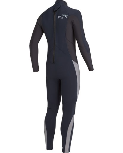 3 4/3 Absolute Back Zip Wetsuit Blue MWFU3BA4 Billabong