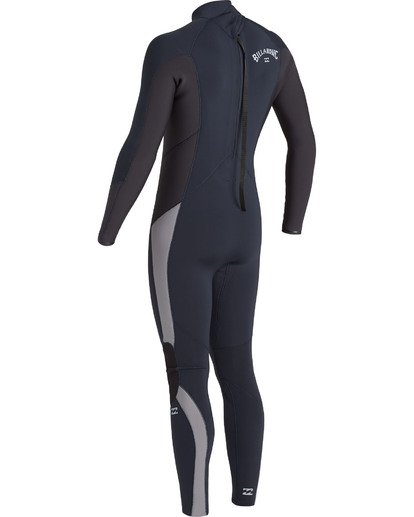5 4/3 Absolute Back Zip Wetsuit Blue MWFU3BA4 Billabong