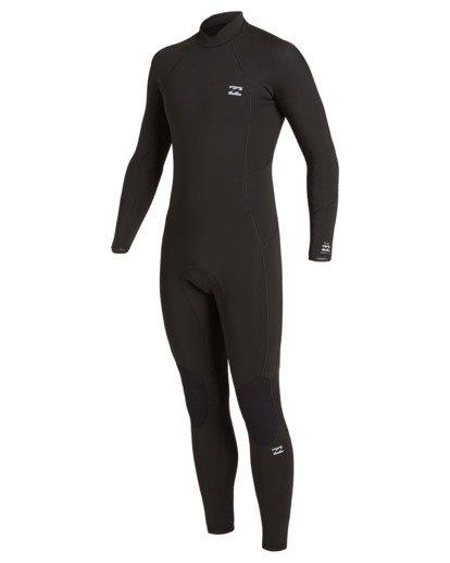 1 5/4 Absolute Back Zip Wetsuit Black MWFU3BA5 Billabong