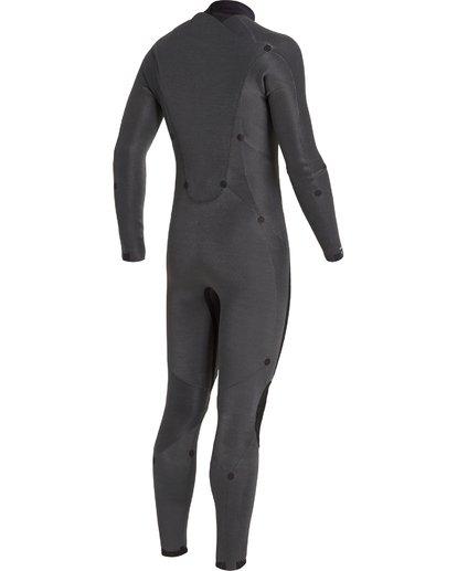 8 5/4 Absolute Back Zip Wetsuit Black MWFU3BA5 Billabong