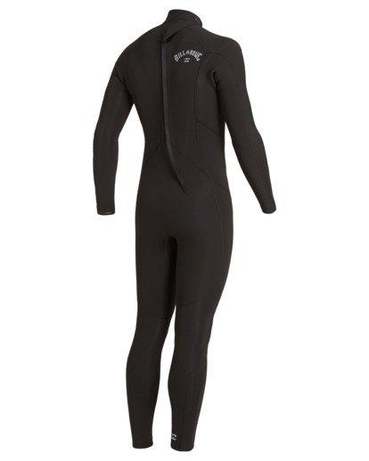 3 5/4 Absolute Back Zip Wetsuit Black MWFU3BA5 Billabong