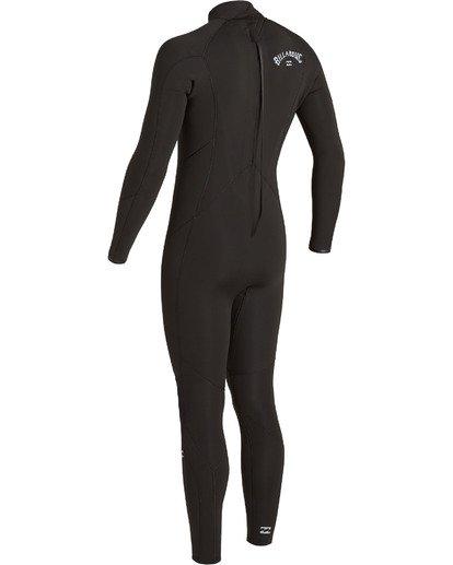 5 5/4 Absolute Back Zip Wetsuit Black MWFU3BA5 Billabong