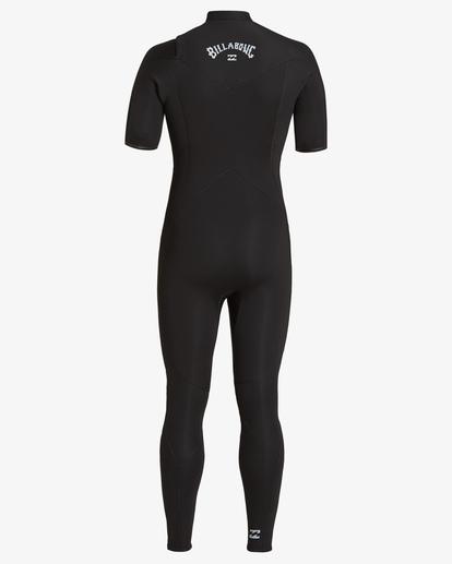1 2/2 Absolute Chest Zip Wetsuit Black MWFU3BC2 Billabong