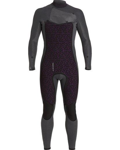 7 3/2 Absolute Chest Zip Wetsuit Black MWFU3BC3 Billabong