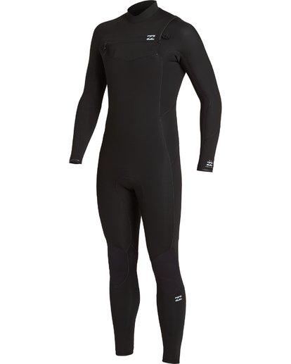 0 3/2 Absolute Chest Zip Wetsuit Black MWFU3BC3 Billabong