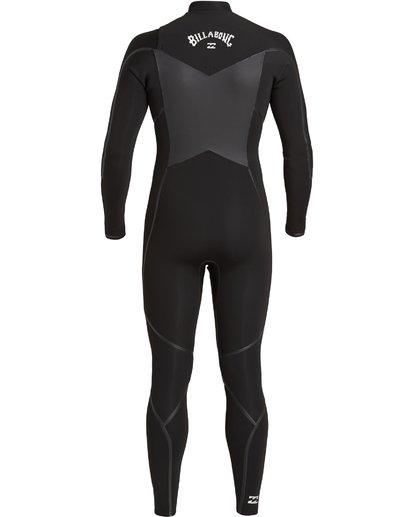4 4/3 Absolute+ Chest Zip Wetsuit Black MWFU3BE4 Billabong