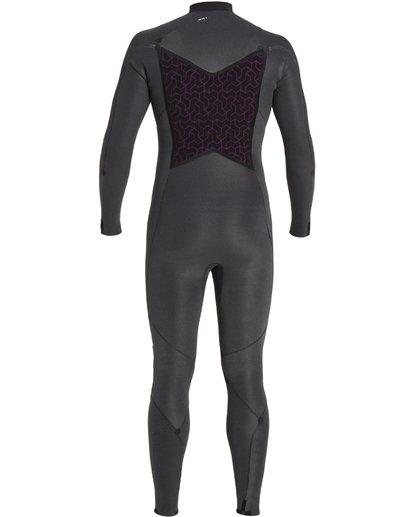 9 4/3 Absolute+ Chest Zip Wetsuit Black MWFU3BE4 Billabong